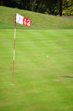 Thirteenth hole Royalty Free Stock Photos