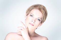 Thirties blonde woman Stock Image
