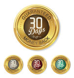 Thirty days money back badge Royalty Free Stock Photography