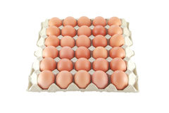 Thirty eggs Stock Photo