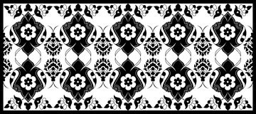 Thirty five series designed from the ottoman pattern Royalty Free Stock Photos