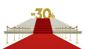 Thirty percent discount Royalty Free Stock Photo