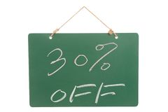 Thirty percent off Stock Images