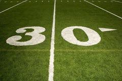 Thirty yard line Stock Photo