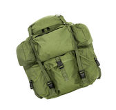 Thirty year old backpack Royalty Free Stock Photography