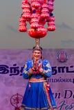 Thiru哈里哈尔酵母酒蛋糕, Nayapura, Kota,拉贾斯坦 印第安舞蹈演员 库存照片