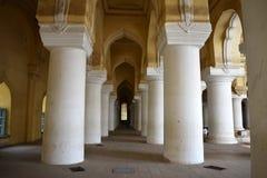 Thirumalai宫殿内在看法  免版税图库摄影