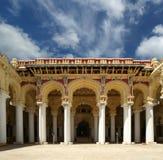 Thirumalai Nayakkar Mahal palace complex Stock Image