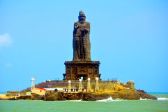 Thiruvalluvar statue at kanyakumari Stock Photography