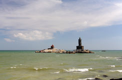 Thiruvalluvar statue at Kanyakumari. India Stock Photography