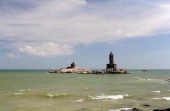 Thiruvalluvar statue at Kanyakumari. India Stock Photography
