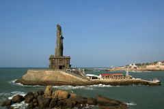 Thiruvalluvar statue, Kanyakumari, India Royalty Free Stock Photography