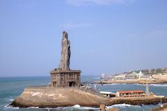 Thiruvalluvar statue. Kanyakumari,  India Royalty Free Stock Photo