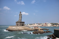 Thiruvalluvar statue. Kanyakumari,  India Stock Photography