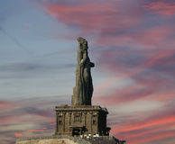Thiruvalluvar statue, Kanyakumari, Tamilnadu, India Royalty Free Stock Photos