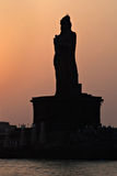 Thiruvalluvar statues Stock Photos