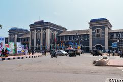 Thiruvananthapuram Central railway station Stock Images