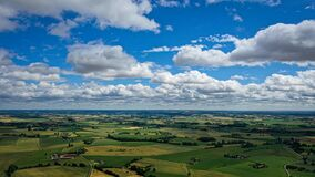 Free This Is Aerial Wiew With The Drone In The Sky Of France To See Landscape Background Stock Image - 191081671