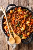 This�picadillo Recipe�is An Easy, Warm And Comforting Mexican Di Royalty Free Stock Images