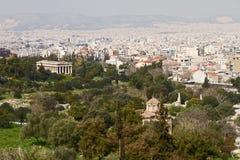 Thisio, Atene Immagini Stock