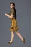 Thistle fae (dark Autumn) Royalty Free Stock Photo