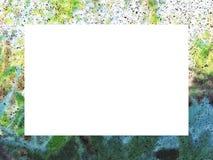 Thistle frame 1. Frame made of meadow plants, Illustration frame stock illustration