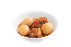 Thit Heo Kho Trung  Vietnamese caramelised pork belly Stock Images