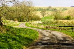 Thixendale Road Stock Image