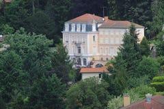 Thizy-les Bourgs-Dorf Lizenzfreie Stockfotos