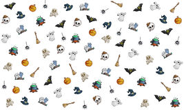 Thème de fond de Halloween Images libres de droits