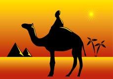 Thème de l'Afrique Photo stock