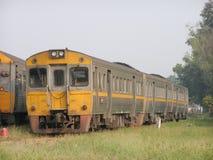 THN柴油铁路车没有1256 对没有自由的火车 408对Nakhonsawan 库存图片