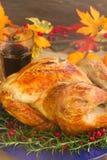 Thnaksgiving turkey close up Royalty Free Stock Photo