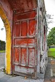 Tho Chi Gate. The Tho Chi Gate in the Dien Tho Residence complex in the Imperial City, Hue, Vietnam Royalty Free Stock Image