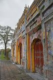 Tho Chi Gate. The Tho Chi Gate in the Dien Tho Residence complex in the Imperial City, Hue, Vietnam Stock Photo