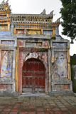 Tho Chi Gate. The Tho Chi Gate in the Dien Tho Residence complex in the Imperial City, Hue, Vietnam Stock Photography