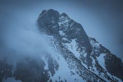 Tho de niebla del alza el tte del ¼ de Ostlerhà foto de archivo