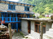 Thoche Village, Nepal Royalty Free Stock Photo