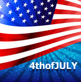 4thofJULY. Royalty Free Stock Photography