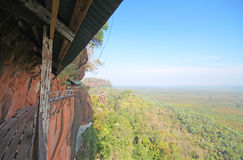 Thok di Phu, Bungkan Tailandia Fotografia Stock