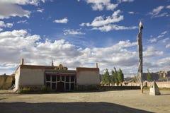 Tholing monastery. The Tholing monastery in Ngari of Tibet, China Royalty Free Stock Photos