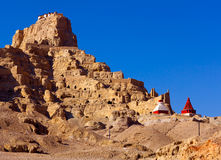 Tholling Monastery in Guge Kingdom, Tibet Royalty Free Stock Photo