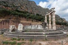 Tholos на Дэлфи Греции Стоковое фото RF