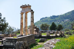 Tholos of Athena Pronoia Stock Photo