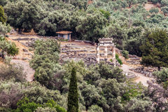 Tholos at Delphi Greece Stock Photography