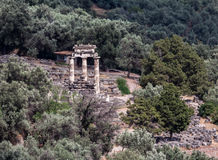 Tholos at Delphi Greece Royalty Free Stock Images