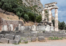 Tholos at Delphi Greece Royalty Free Stock Photo