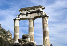 Tholos Temple, Delphi, Greece Royalty Free Stock Photography