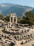 Tholos Temple of Delphi Stock Images