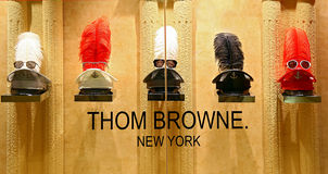 Thom browne eyewear collection Royalty Free Stock Photo